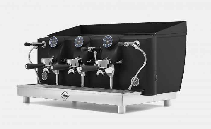 Espressor VIBIEMME Lollo Elettronica - 3 grupuri [2]
