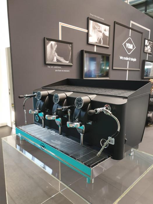 Espressor VIBIEMME Lollo Semiautomatica - 3 grupuri [3]