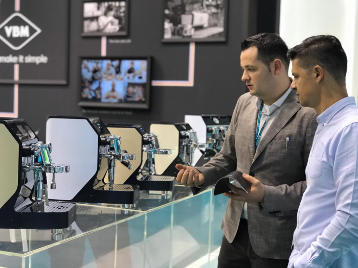 Espressor profesional VIBIEMME REPLICA HX ELETTRONICA - 4 grupuri [3]
