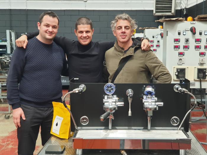 Espressor profesional VIBIEMME REPLICA PISTONE - 3 grupuri 3