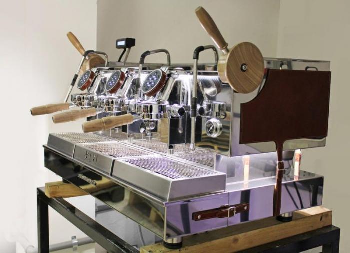Espressor XLVI Steamhammer 3 grupuri 2