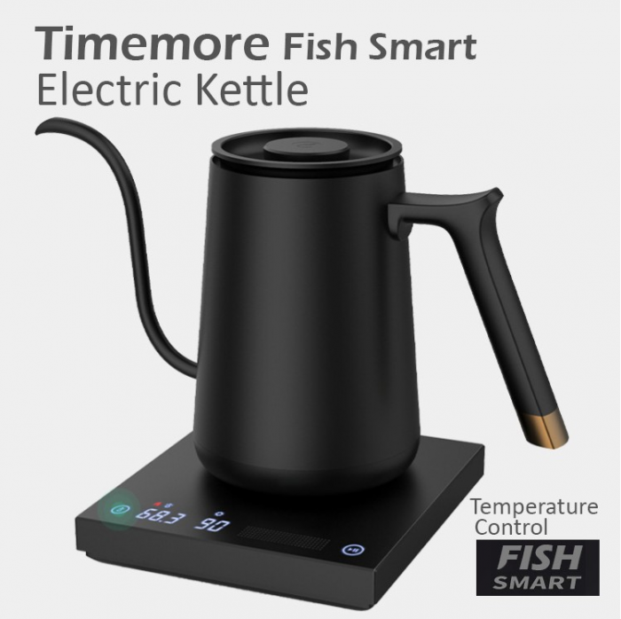 "Fierbator electric apa pentru acasa 600ml alb ""FISH SMART"" Timemore [14]"