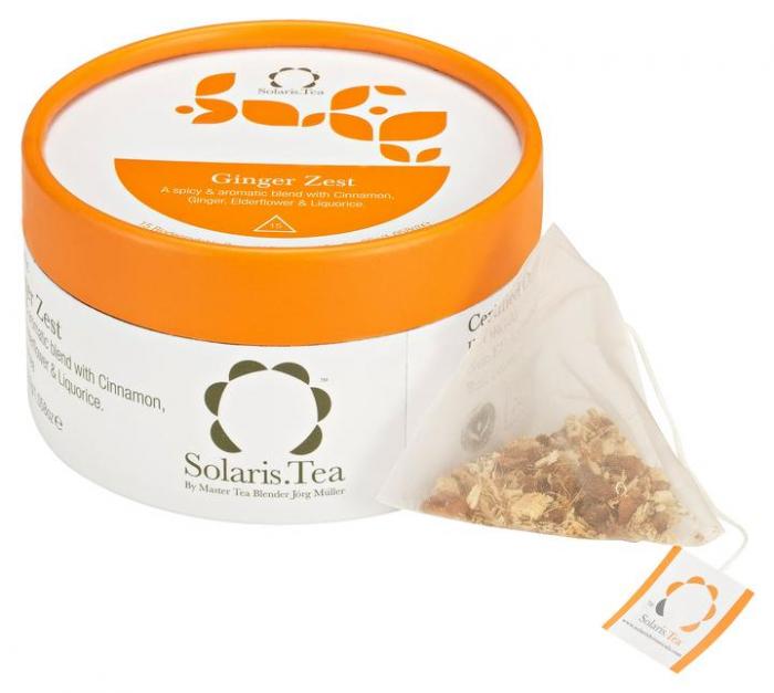 Ceai Organic Ghimbir 15 plicuri piramidale 0