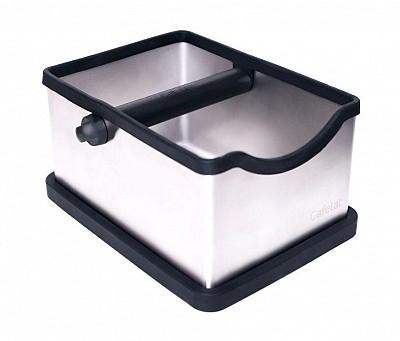 KNOCK BOX INOX -  L. 180mm - D. 240mm - H. 125mm 0