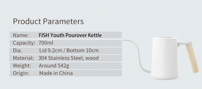 KETTLE POUR OVER blue Timemore 5