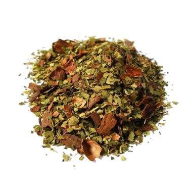 Ceai Organic Mate Cacao Menta Frunze Cilindru 50gr 1