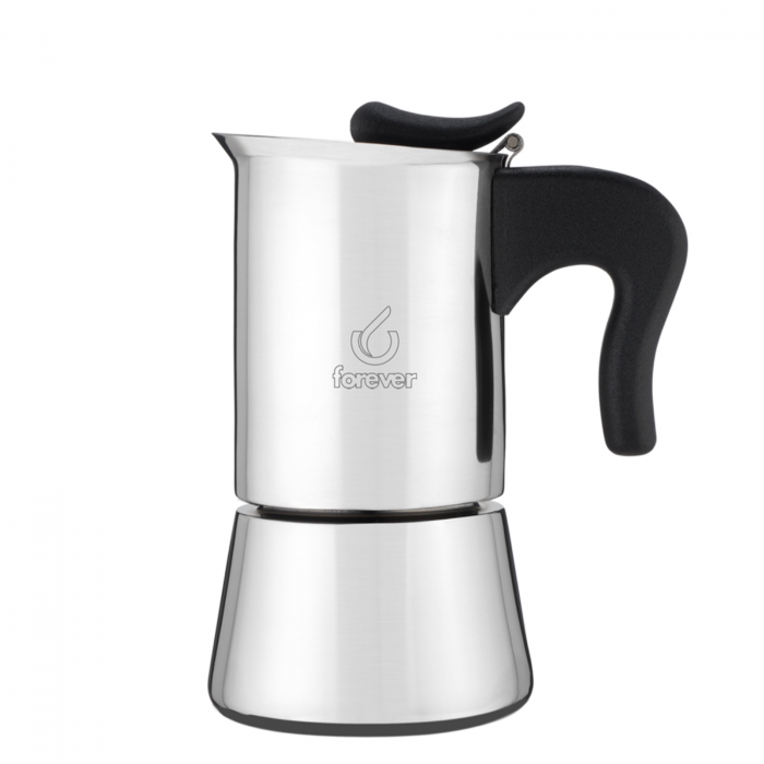 Moka Pot cu inductie Forever Miss Splendy 10 cupe - Otel Inoxidabil [0]