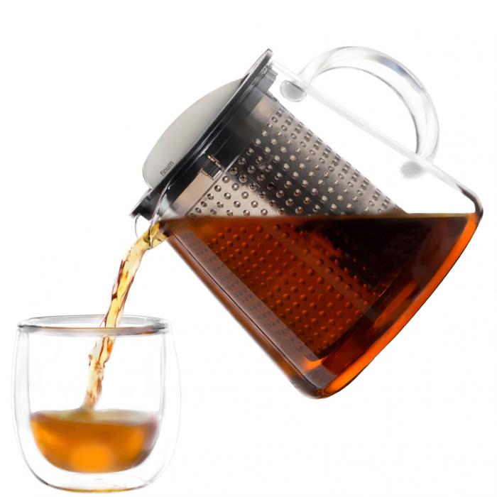 FINUM Infuzor de ceai 0.8L 0