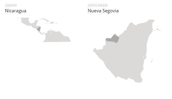 Cafea verde Nicaragua Nueva Segovia 1