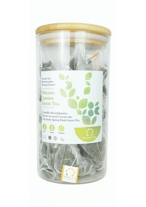 Organic Jasmine Green Tea Pyramid Teabags – Food Service 0