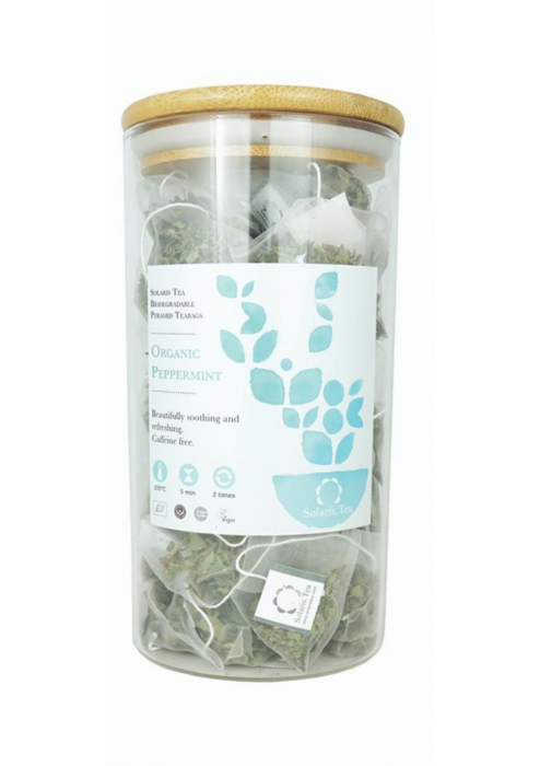 Ceai Organic Menta 100 plicuri piramidale 0