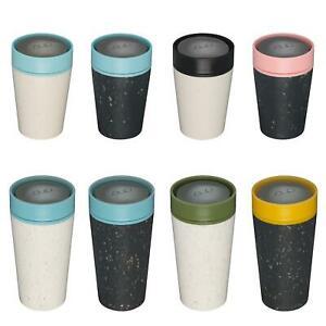 Circular & Co Pahar refolosibil ecologic - negru & roz 8oz 3