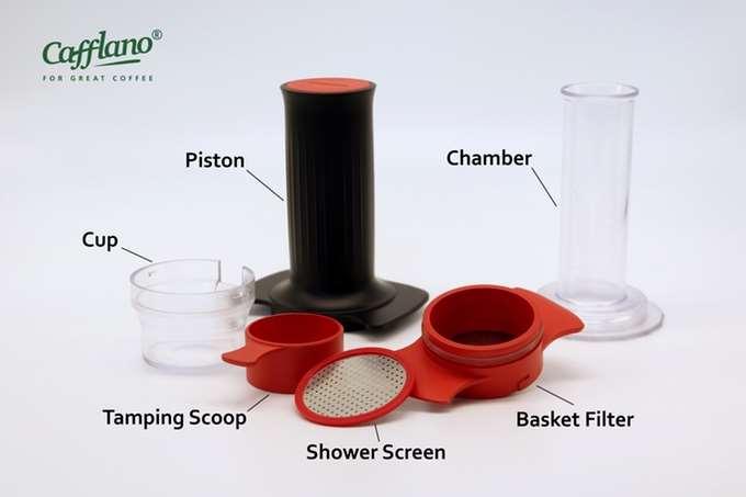 Garnitura silicon pentru Piston Cafflano Kompresso 5