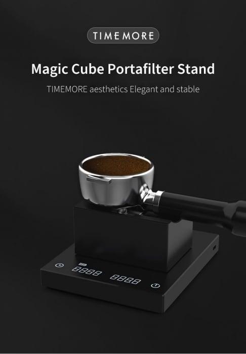 """Suport pentru portafiltru """"Magic Cube"""" Timemore [4]"""