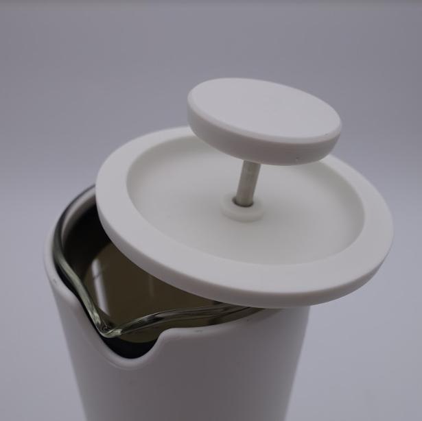 Presa franceza - ALB 450ml pentru cafea si ceai TIMEMORE [17]