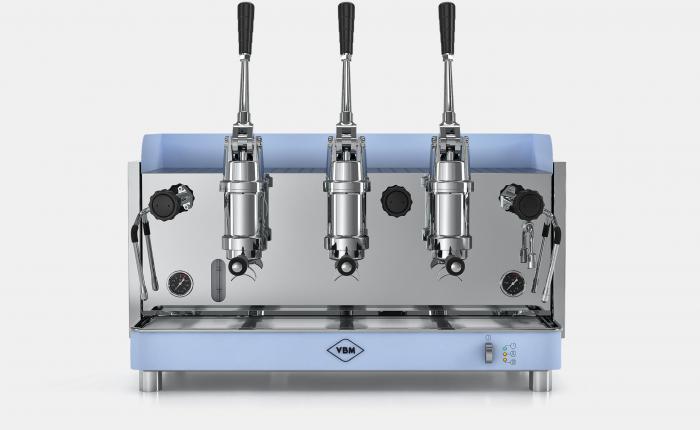 Espressor profesional VIBIEMME REPLICA PISTONE - 3 grupuri [0]