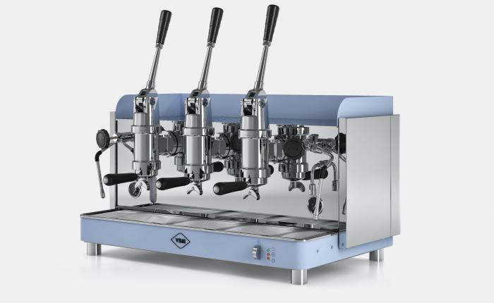Espressor profesional VIBIEMME REPLICA PISTONE - 3 grupuri 1