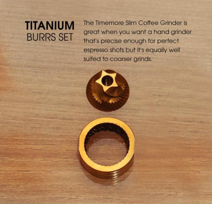 Rasnita manuală Slims Titan Timemore 2
