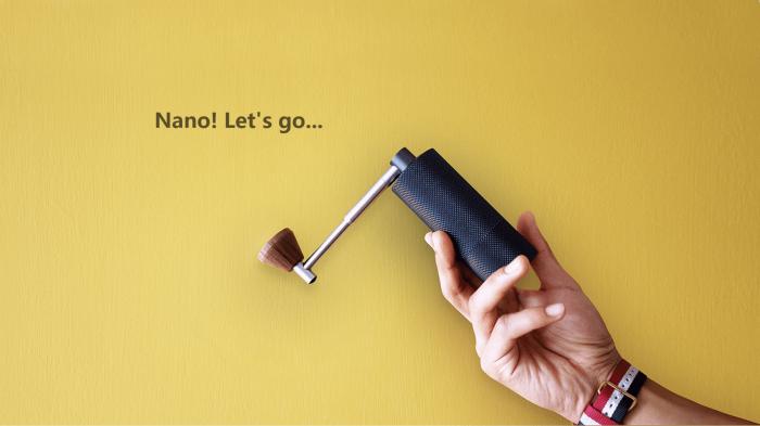 Rasnita Manuala Travel Nano S Neagra Timemore [3]