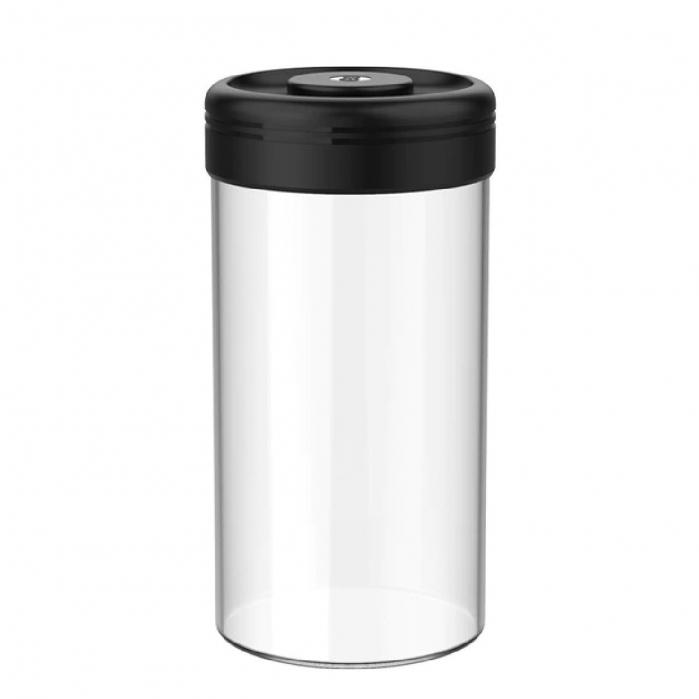 Recipient cafea din sticla 1200ml NEGRU Timemore [0]