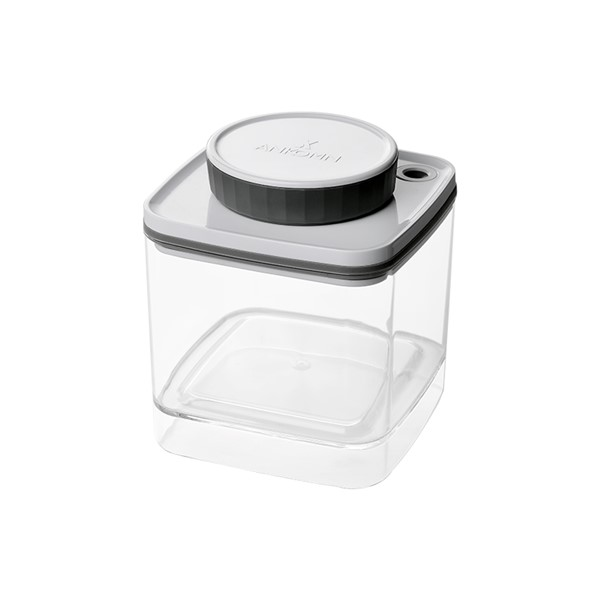 Recipient Turn-N-Seal ermetic pentru cafea si ceai 600 ml Gri [1]
