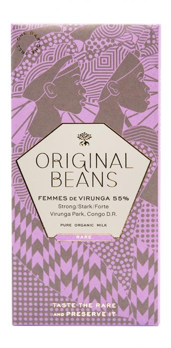 Set Cadou 2 Tablete de Ciocolata Organica Virunga & Femmes 2