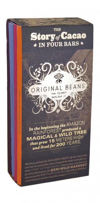 Set Cadou The Story of Cacao - 4x70g Tablete de Ciocolata Organica [0]