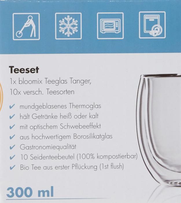 Set Pahar Dublu + 10 plicuri Ceai Organic 7