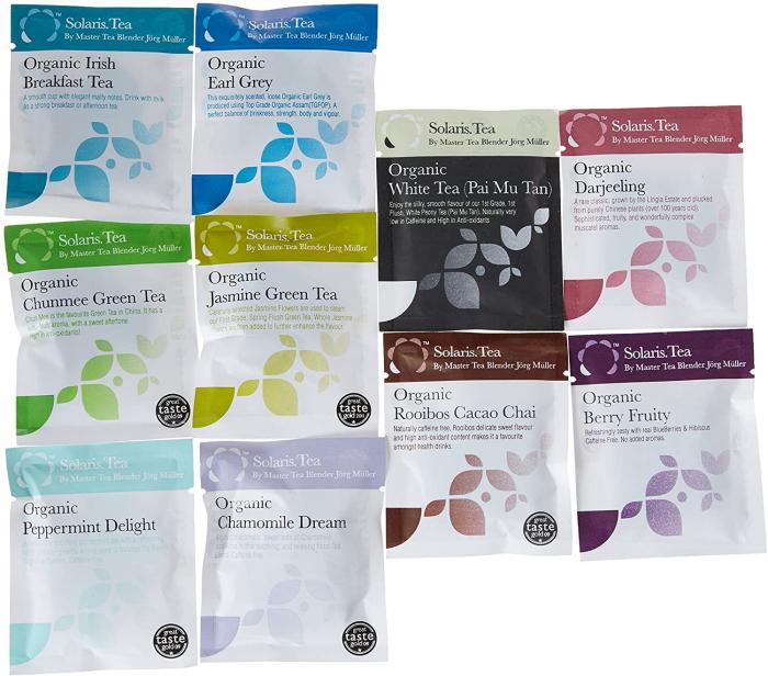 Set Pahar Dublu + 10 plicuri Ceai Organic 2
