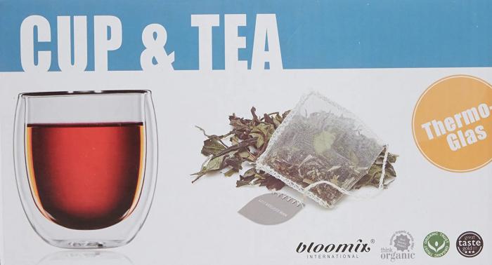 Set Pahar Dublu + 10 plicuri Ceai Organic 6