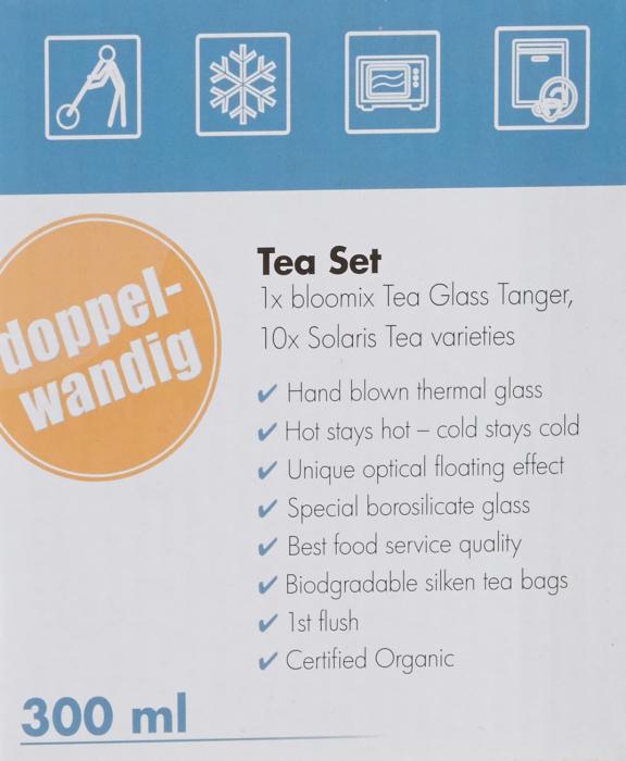 Set Pahar Dublu + 10 plicuri Ceai Organic 8