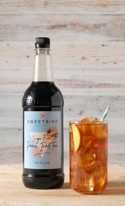 Sirop Peach Iced Tea Sweetbird 1L (sugar-free) 1