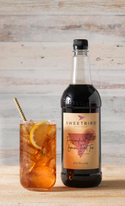 Sirop Passionfruit & Lemon Iced Tea Sweetbird  1L 1