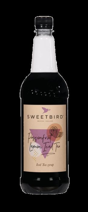 Sirop Passionfruit & Lemon Iced Tea Sweetbird  1L 0