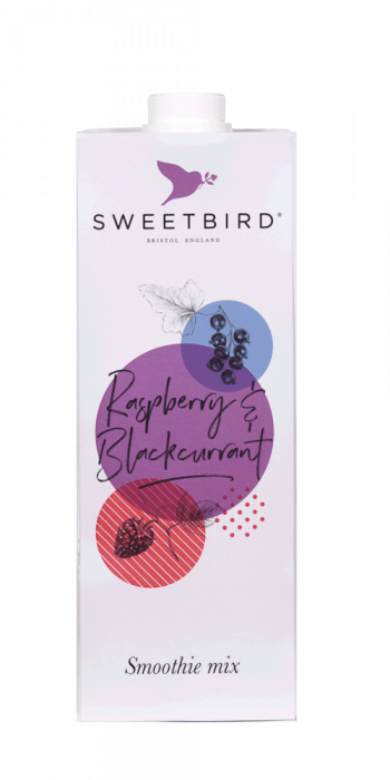Smoothie Sweetbird Raspberry & Blackcurrant - 1L 0