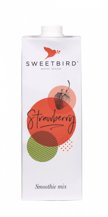 Smoothie Sweetbird Strawberry - 1L 0