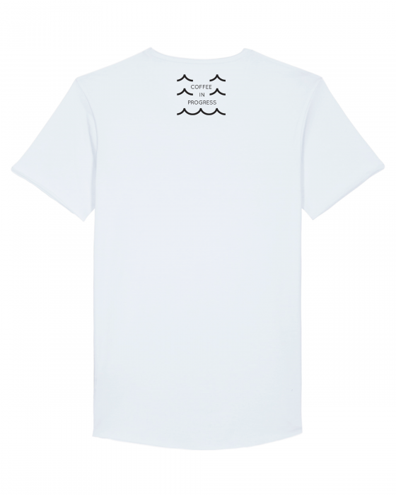 Tricou Alb Personalizat Dropshot Basic [3]