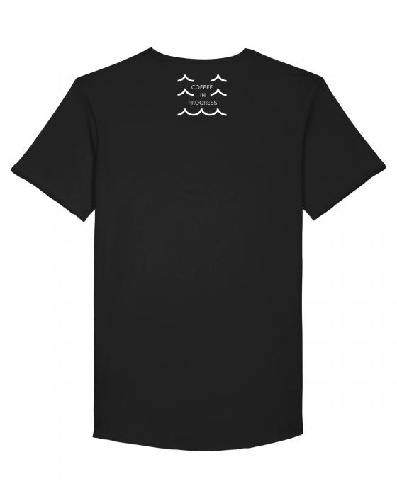 Tricou Negru Personalizat Dropshot Longboard [3]