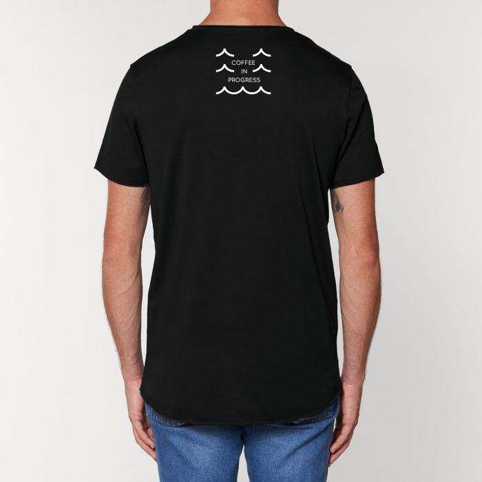 Tricou Negru Personalizat Dropshot Longboard [1]