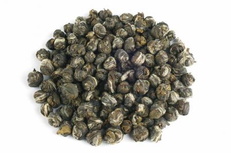 """Ceai Organic Iasomie """"Perlele Dragonului"""" Frunze Cilindru 50gr1"""