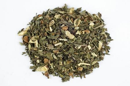 Ceai Organic Menta Frunze Cilindru 50gr1