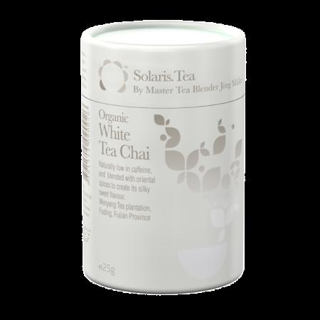 Ceai Organic Alb Chai Frunze Cilindru 25gr0