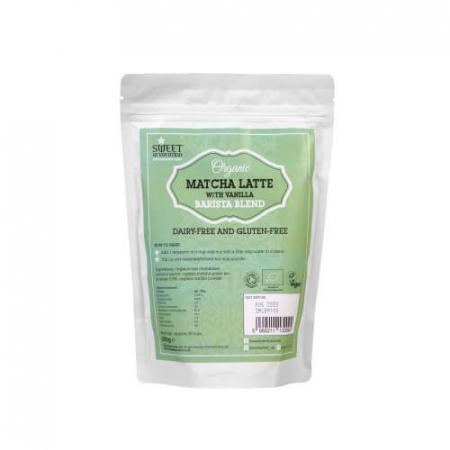 Barista Blend Matcha Latte Organic 250g0