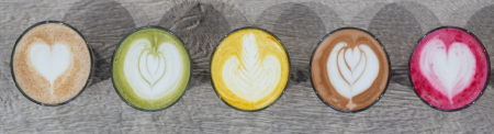 Barista Blend Matcha Latte Organic 250g5