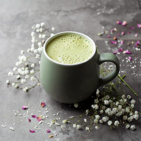 Barista Blend Matcha Latte cu Vanilie - Organic 70gr [4]