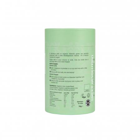 Barista Blend Matcha Latte cu Vanilie - Organic 70gr [1]