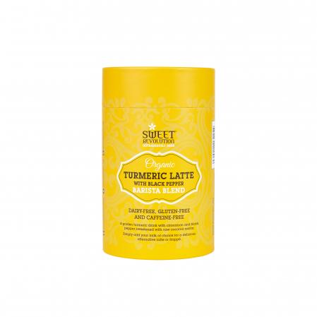 Barista Blend Turmeric Latte cu Piper Negru - Organic 100gr0