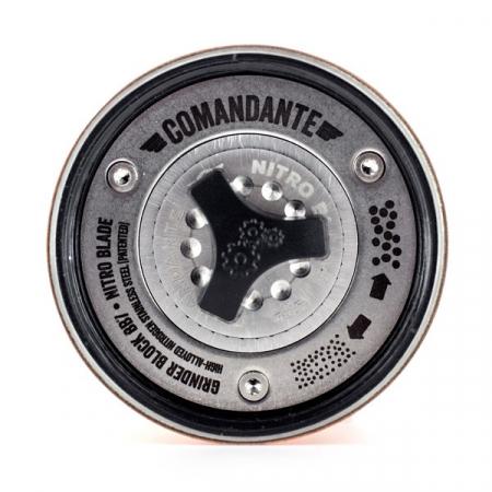 Rasnita manuala Comandante C40 MK3 Nitro Blade - Lemn [1]