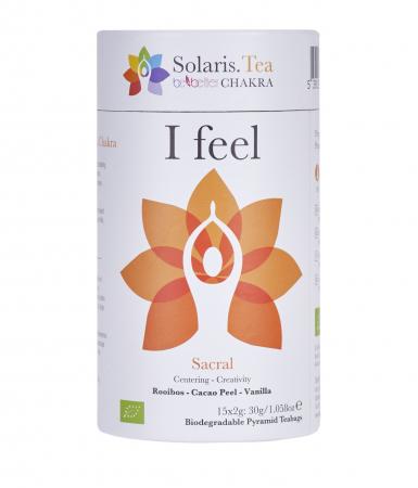 Ceai Organic I Feel - Sacral Chakra4