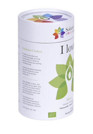 Ceai Organic I Love - Hearth Chakra6